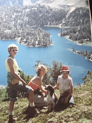 Tom in the Wallowas back in the day